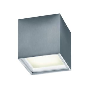 EEK A+, Deckenleuchte SIRI LED - Metall - Silber, Helestra
