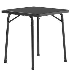 Gartentisch Mecalit IV - Kunststoff / Stahl - Anthrazit - 70 x 70 cm, Sieger