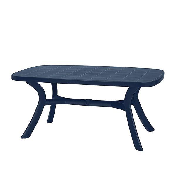 Gartentisch Kansas - Kunststoff - Blau, Best Freizeitmöbel von ...