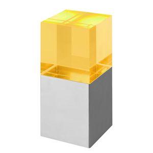 EEK A+, LED-Tischleuchte Jorg II - Metall / Glas - 13, Sompex