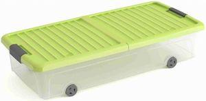 Unterbettbox mit Deckel - L - grün
