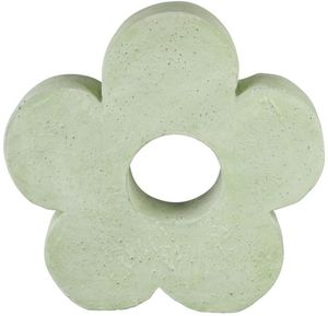 Dekoblume - aus Magnesia - 38 x 9 x 36 cm - grün