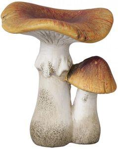 Pilze - aus Terrakotta - 9 x 9 x 11 cm