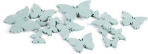 Streudeko - Schmetterlinge - aus Holz - 20 Stück