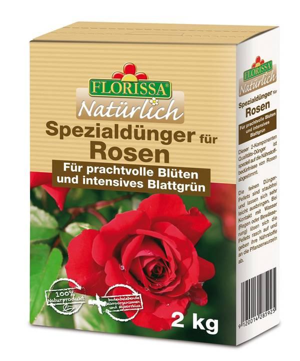 Spezialdünger für Rosen, 2 kg Florissa