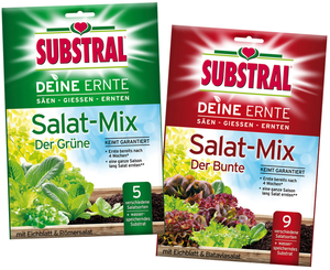 Deine Ernte Salat-Mix 250 gr. - in verschiedenen Sorten Substral
