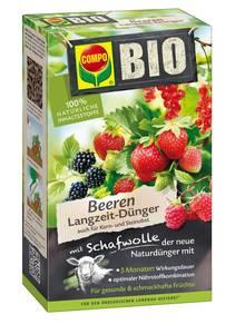 Bio Beeren Langzeit Dünger mit Schafwolle, 750 g Compo