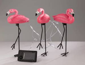 Flamingo Solar Leuchten- 3er Set