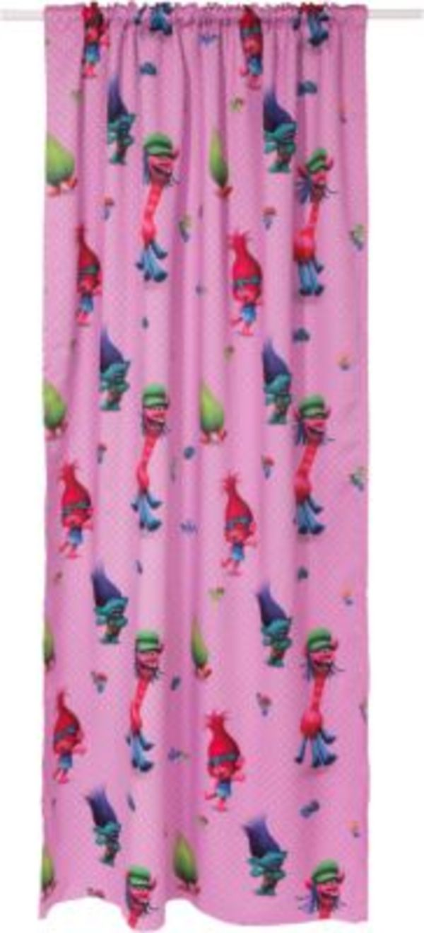 Vorhang Blickdicht Trolls 250 X 140 Cm