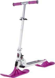 Snow Kick Scooter white pink