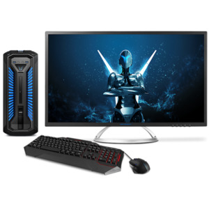 MEDION ERAZER X67039, Intel Core i7-8700, Windows 10 Home, GTX 1070, 512 GB PCIe SSD, 2 TB HDD, Gaming PC inkl. Monitor + Gaming Zubehör