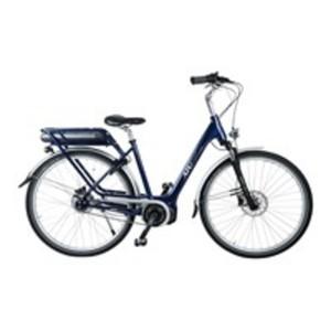 ATURA E-Bike Shimano CLASSIC, 28 Zoll Pedelec, elektrisch unterstütztes Cityrad in Dunkelblau, bis zu 125 km Reichweite (ECO Mode)