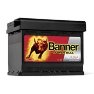 Banner Power Bull Autobatterie, P62 19, 62 Ah, 550 A