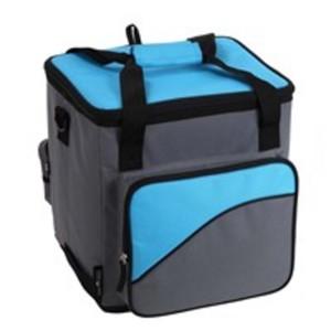 Norauto Kühltasche, elektrisch mit 12 V, ca. 28 Liter Fassungsvermögen, in Blau/Grau