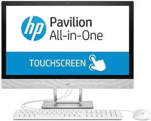 HP Pavilion 24-r030ng (2XB23EA) All in One blizzard white