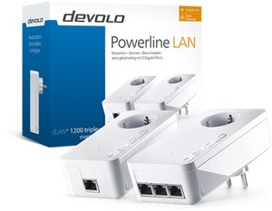 Devolo dLAN 1200 triple + Starte Kit