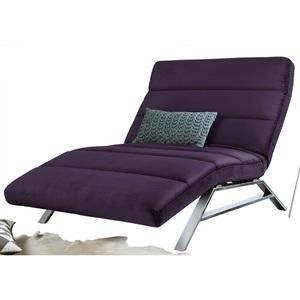 Ole Gunderson Relaxliege Stoffbezug Lavendel ca. 120 x 46-110 x 158-198 cm