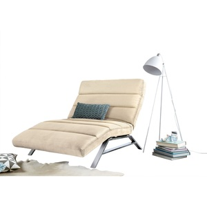 Ole Gunderson Relaxliege Stoffbezug Pearl ca. 120 x 46-110 x 158-198 cm