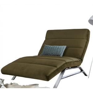 Ole Gunderson Relaxliege Stoffbezug Olive ca. 120 x 46-110 x 158-198 cm