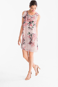 Yessica         A-Linien Kleid mit Kette