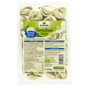 Alnatura Bio Dinkel Tortelloni Ricotta Spinat 1.08 EUR/100 g