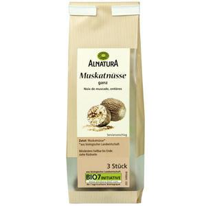 Alnatura Bio Muskatnuss, ganz 3 Stück 23.25 EUR/100 g