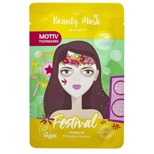 The Beauty Mask Company Tuchmaske Festival