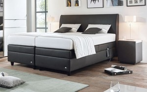 ruf motor boxspringbett mercata in braun von hardeck ansehen. Black Bedroom Furniture Sets. Home Design Ideas