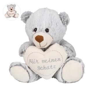 Teddybär mit Herz 23 cm Alles Gute