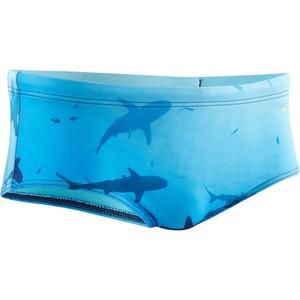 NABAIJI Badehose Slip 550 Side Shark 2B Herren, Größe: M (EU:40 - DE:46)