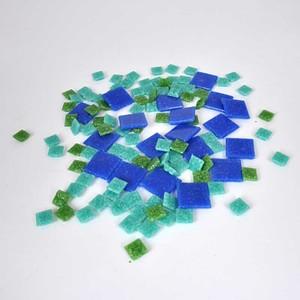 Rico Design Glas-Mosaiksteine 10x10mm 200g ca. 72 Stück