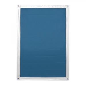Lichtblick Dachfenster Sonnenschutz Haftfix, ohne Bohren, Blau, 59 cm x 96,9 cm (B x L)