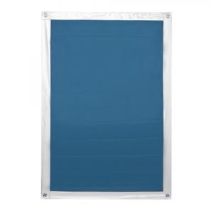 Lichtblick Dachfenster Sonnenschutz Haftfix, ohne Bohren, Blau, 94 cm x 118,9 cm (B x L)