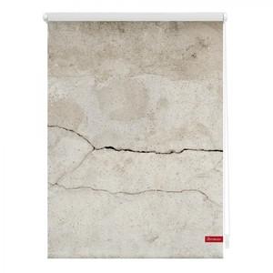 Lichtblick Rollo Klemmfix, ohne Bohren, blickdicht, Beton - Grau, 100 x 150 cm (B x L)