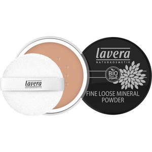 lavera FINE LOOSE MINERAL POWDER -Almond 05-