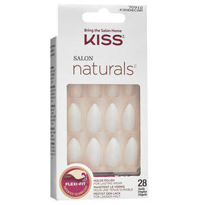 KISS Salon Naturals selbstklebende Fingernägel Hush Now