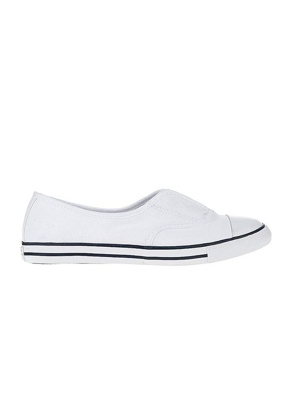 converse weiss damen slip on
