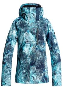 Roxy Wilder Print - Snowboardjacke für Damen - Blau