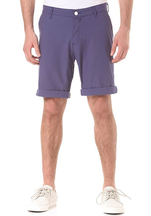 WearColour Clwr - Chino Shorts für Herren - Blau