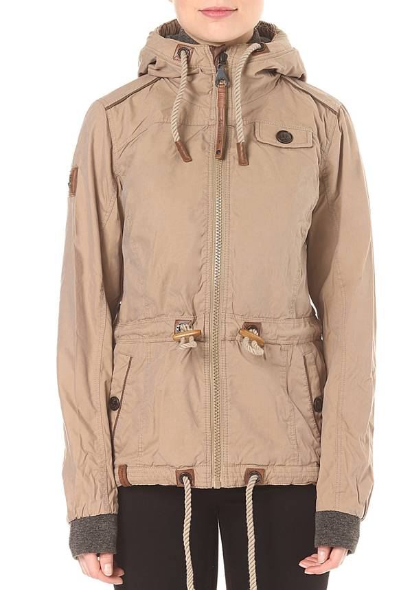 Naketano The Magic Stick Pimmel Jacke für Damen Beige