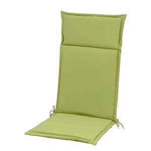 Auflage für Hochlehner Esdo - Webstoff - Grasgrün, Sun Garden