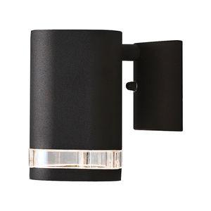 EEK A++, Halogen Wandleuchte Modena - Aluminium/Glas - 1-flammig, Konstsmide