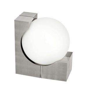 EEK A++, Außenleuchte Ohio - Opalglas / Aluminium - 1-flammig, Eglo