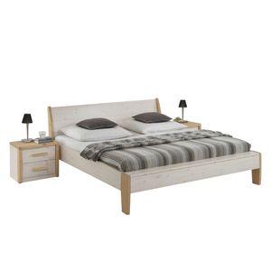 Doppelbett Nea - Kiefer/Massivholz - Liegefläche 140 x 200 cm, Steens