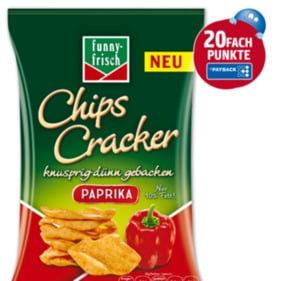 FUNNY FRISCH Chips Cracker Paprika