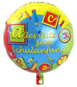 1 Luftballon - Schulanfang
