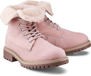 Winter-Boots von Cox in rosa für Damen. Gr. 36,38,39,40,41,42