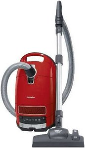 Miele Complete C3 Red EcoLine - SGSK3 Bodenstaubsauger mangorot / A+