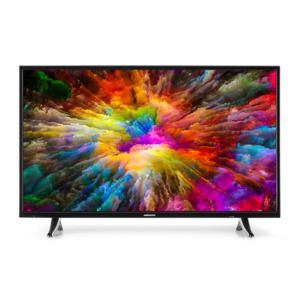 MEDION LIFE X14310 TV, 108cm (43'') Ultra HD Smart-TV, HDR, PVR ready, NETFLIX, Bluetooth, DTS HD, HD Triple Tuner, CI+ , inkl. 2.1 TV Soundbar E64126