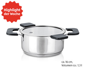 CROFTON®  Chef's Collection Edelstahl-Topf, ca. 16 cm Ø